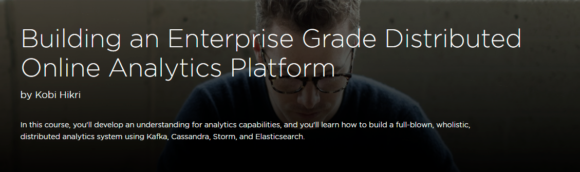 Building an Enterprise Grade Distributed Online Analytics Platform