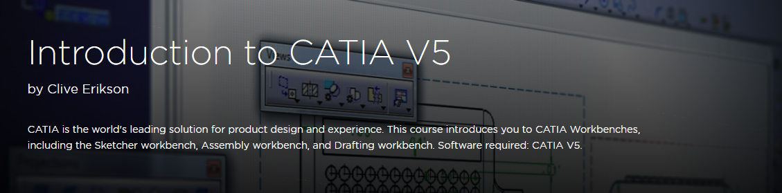 Introduction to CATIA V5
